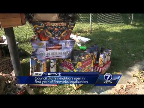 Council Bluffs neighbors spar in first year of fireworks legalization
