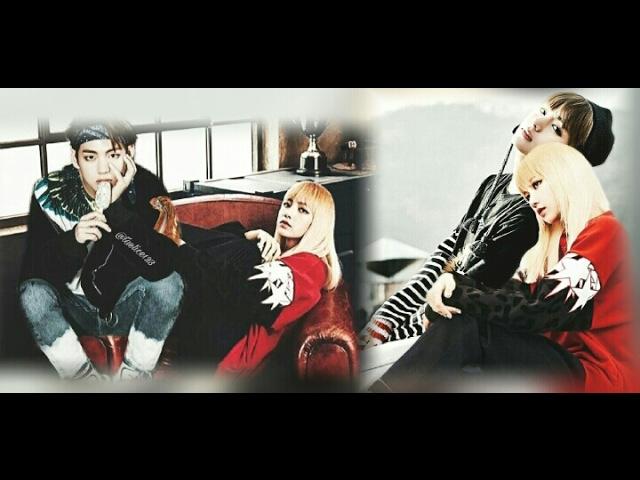 BTS V AND BLACKPINK LISA / TAELICE | I LOVE YOU