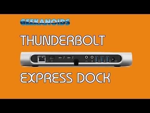 Belkin Thunderbolt Express Dock Review @belkin