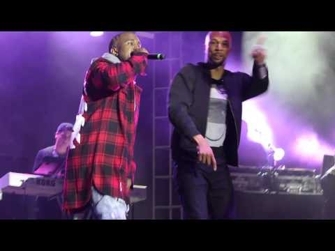 Kanye and Common - Get Em High at AAHH Fest