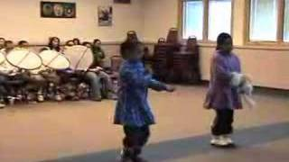 Inupiat dancers perform ancient dances.  2 of 3
