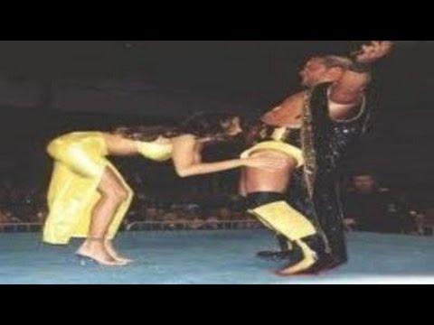 Wrestling nipple slip