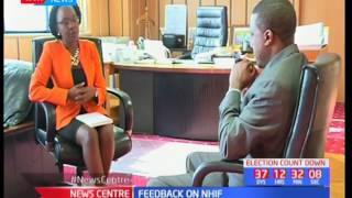 CEO, NHIF Geoffrey Mwangi  shades more light on the NHIF