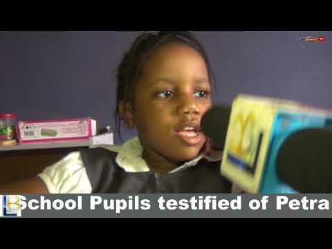 School Pupils testified of Petra Academy Anambra, Awka