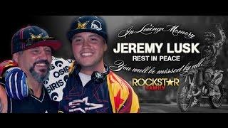 R I P Jeremy Daniel Lusk 1984 - 2009 (Three Days Grace - One X)