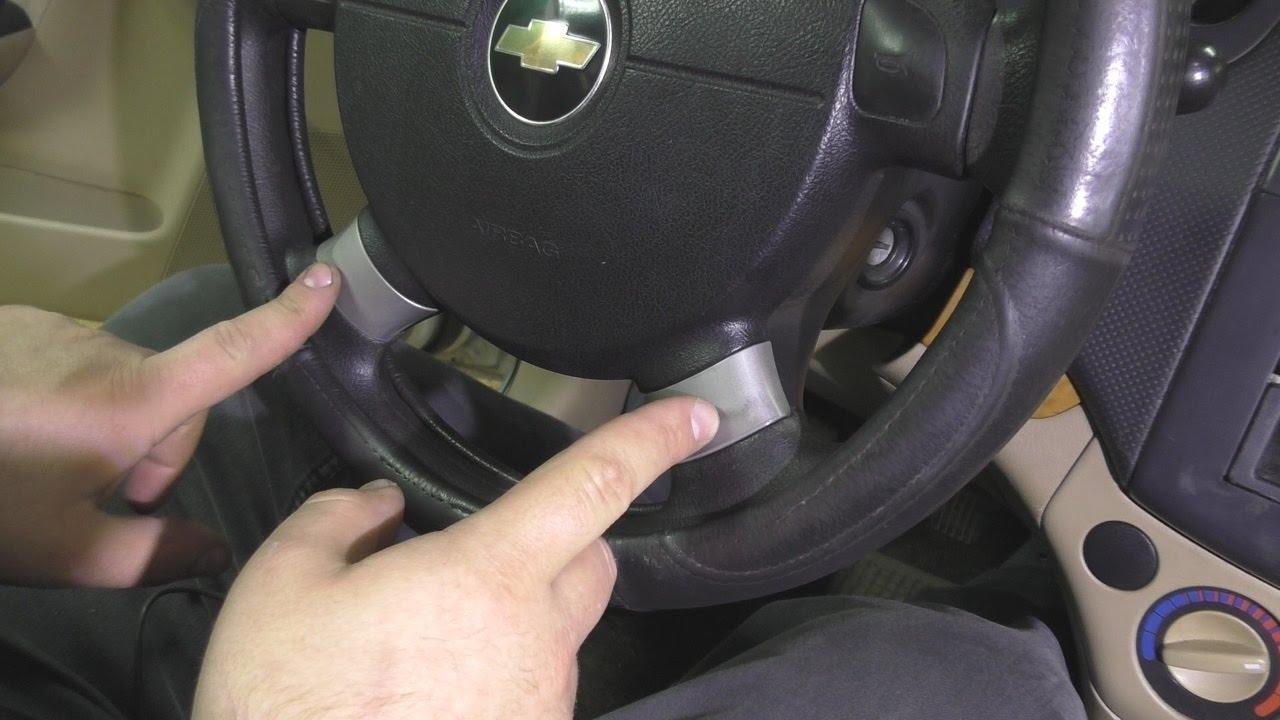 Как обновить пластик салона Chevrolet Aveo .
