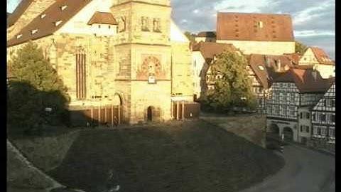 Schwäbisch Hall - Livecam - Große Treppe Michaelskirche