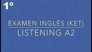 Listening A2 - 1º TEST | English Listening A1