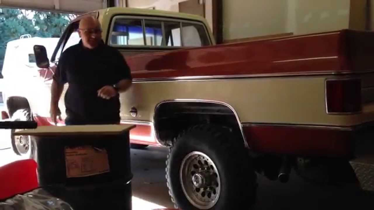 Pickup 74 chevy pickup : 1978 Chevy Truck k20 4X4 - Big Block 454 - Cold Start - YouTube