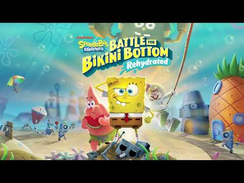 SpongeBob SquarePants: Battle for Bikini Bottom - Rehydrated - Pre-Hydrated Trailer