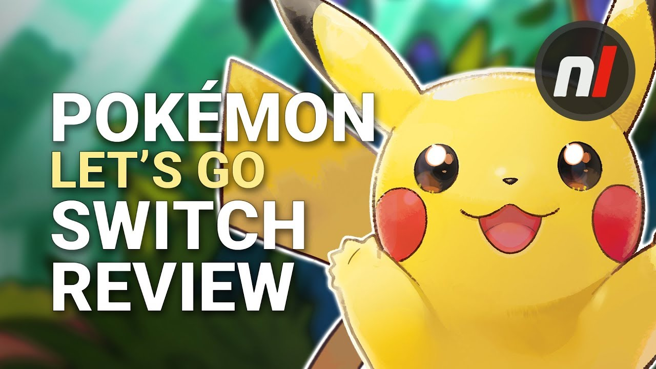 Pokémon Let S Go Pikachu Eevee Nintendo Switch Review Are They