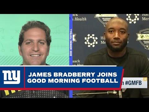 James Bradberry Talks 2021 Season Goals, Giants Secondary, Daniel Jones   New York Giants