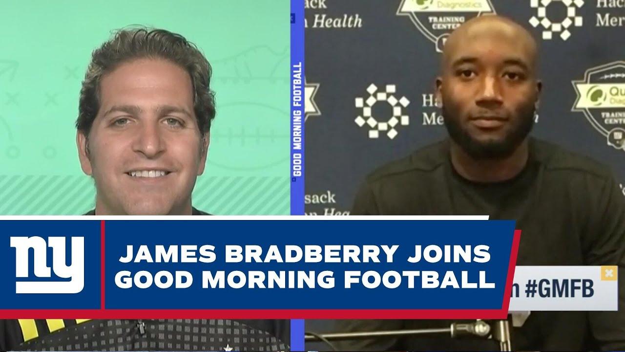 James Bradberry Talks 2021 Season Goals, Giants Secondary, Daniel Jones | New York Giants