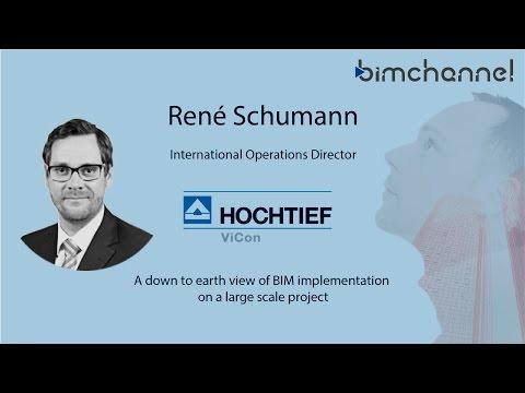 BIM - René Schumann - HOCHTIEF - BIMFORUM - BIMEXPO 2016