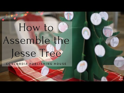 How to Assemble the Jesse Tree