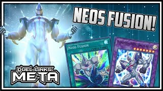 Neos Fusion! NEW EX Structure Deck Gameplay and First Impressions! [Yu-Gi-Oh! Duel Links]