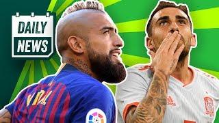 Alcacer: Doppelpack für Spanien und BVB zieht Klausel! Mbappé spendet WM-Gehalt! Kovac wollte Rebic!