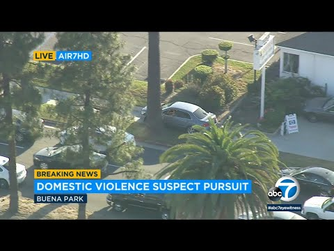 Chase suspect leads dangerous three-hour pursuit in LA County I ABC7
