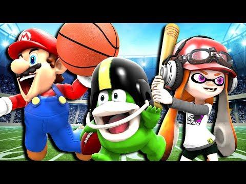 SMG4: Stupid Mario Sports Mix