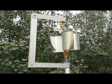 How To Make A Free Energy Wind Turbine