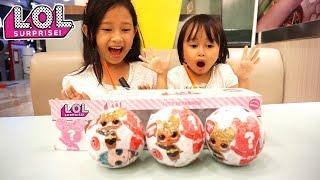 LOL Surprise Glitter Series 💖 Unboxing LOL Jessica Jenica dapat hadiah apa ya??? Mainan Anak