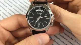 Мужские часы Casio MTP-1370L-1A - видео обзор наручных часов от PresidentWatches.Ru