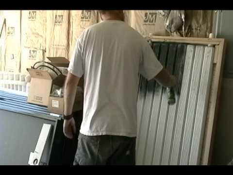 Solar Thermal Heat Panel 210 Degrees Of Free Heat Youtube