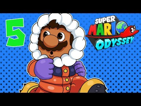 BasicallyIPlay: Super Mario Odyssey #5 Metro Kingdom & Snow Kingdom !
