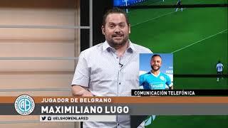 Maximiliano Lugo y jugar con Juan Brunetta y Matias Suarez