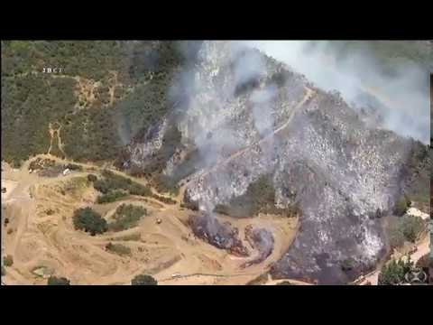 "Malibu, california 5-19-17  ""Brush Fire in Malibu"""