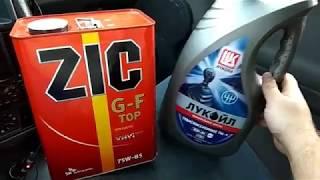 Замена масла в МКПП на ВАЗ 2112 + промывка сольвентом