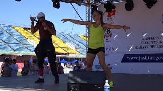 Спорт. Международный Олимпийский день в Кыргызстане 23.06.18