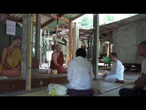 """Buddhist practice – the path to liberation"" (HD) - Dhamma Talk by Ajahn Martin"
