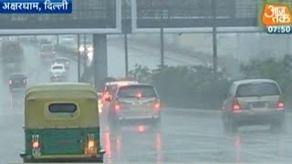 Delhi: Weather Department Forecasts Rain Till Saturday Evening