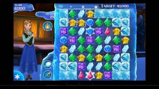 Frozen Free Fall    How To Do Level 90 Very Easy