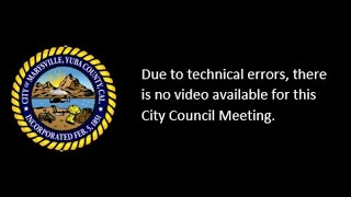 Marysville, CA City Council Meeting 9-17-2019 - AUDIO ONLY