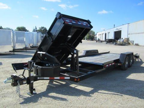 Midsota Bobcat Equipment Trailer Amp Dump Trailer In 1