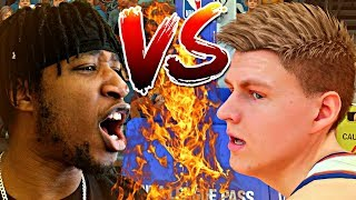 THE BIGGEST FACE OFF OF THE YEAR! 6GOD DROPPING 65+ IN THE GARDEN! I FOULED OUT! - NBA 2K19 MyCAREER
