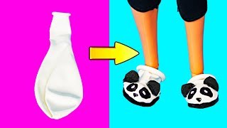 DIY Barbie Ideas | Making Easy Clothes for Barbie dolls | Creative Fun for Kids