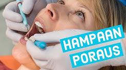Hampaan poraus (Reikä hampaassa / karies) - voice over