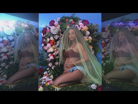 Download Youtube: See How Beyonce Announced She's Pregnant With Twins