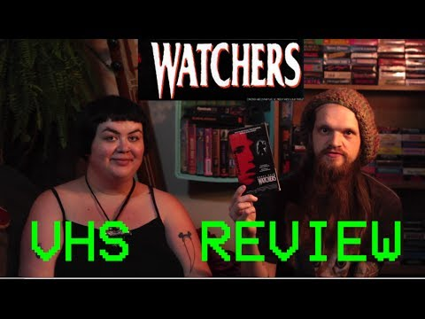 VHS REVIEW - WATCHERS (1988)