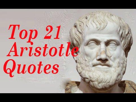 Top 21 Aristotle Quotes  || Greek philosopher and scientist