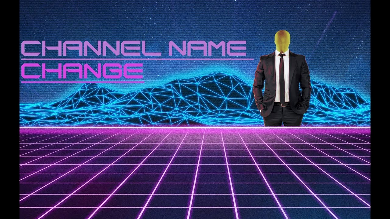 how to change channel name on youtube 2018