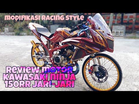 Review Modifikasi Motor Ninja 150RR Jari-Jari