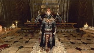 Skyrim Dawnguard : Becoming A Vampire Lord