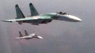 Close Call Between American and Russian Military Planes