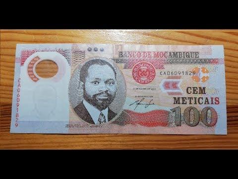 100 Meticais From Mozambique Banknote / Bilhete / Nota /Banconota