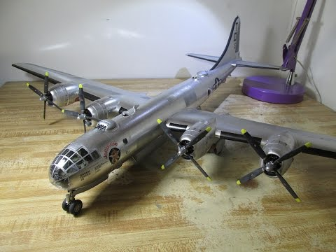 Building Revell B-29 Superfortress. From Start to Finish. 1/48 Scale.