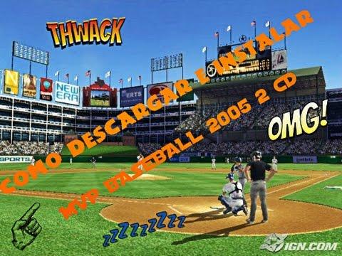 Como Descargar E Instalar MVP Baseball 2005 2 CD Para Windows 7/XP/8/8.1/10 32-64 Bits